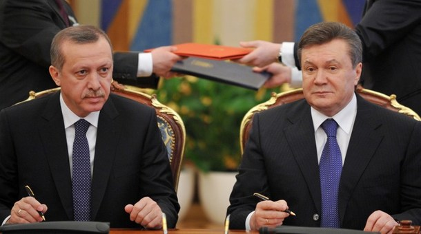 UKRAINE-TURKEY-YANUKOVYCH-ERDOGAN